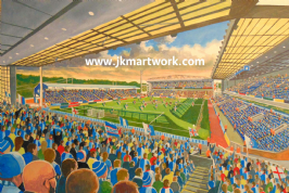 Hand Painted original of ewood park